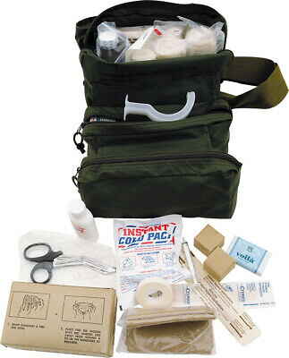 $64.62 • Buy First Aid FA108 Kit M 3 Medic Bag Used By Military Medics Comes In Olive Drab