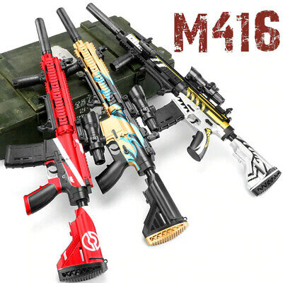$82.72 • Buy M416 Electric Manual 2 Modes Water Gel Bomb Blast Bullet Shooting Paintball Toy