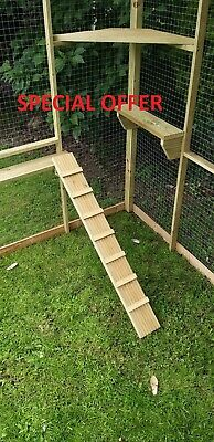 £18.50 • Buy Catio Accessories (shelving, Ladders And Scratching Post) - SEE ITEM DISCRIPTION