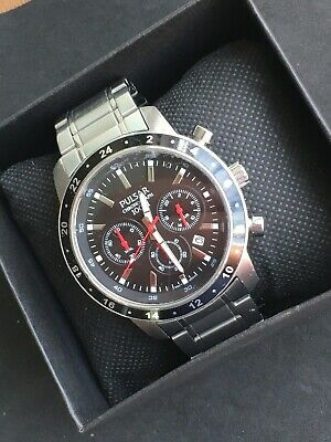 $ CDN32.61 • Buy Pulsar By Seiko Chronograph Date Stainless Steel Mens Watch VD53-X055