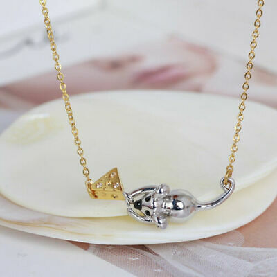 $ CDN10.92 • Buy Kate Spade Little Mouse Loves Cheese Holiday Drop Necklace