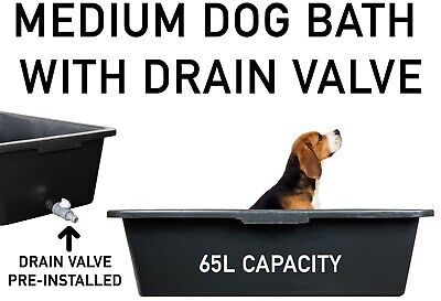 £23.99 • Buy DOG BATH/Pool For MEDIUM DOGS With Easy-to-Empty DRAIN Tap, For Inside & Outside