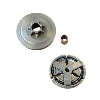 £9.97 • Buy Sprocket Clutch Drum Set For Chinese 4500/5200/5800 45CC/52CC/58CC Chainsaw Accs