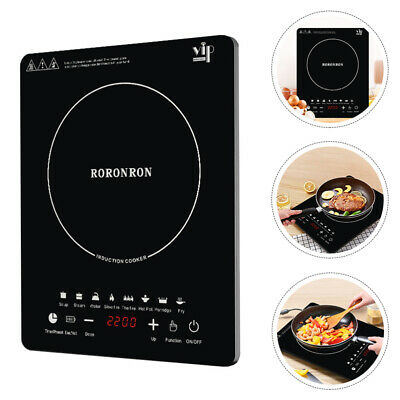 £38.84 • Buy Electric Induction Hob 2200w Portable Digital Touch Single Cooker Hot Plate Hobs