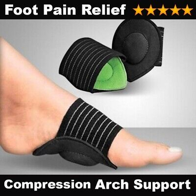 £2.99 • Buy FOOT ARCH SUPPORT Orthopedic Flat Feet Plantar Fasciitis Insole Heel Pain Relief
