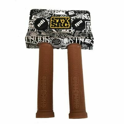 £15.98 • Buy ODI: Stay Strong Lion Heart BMX / Scooter Grips 143mm - Gum Rubber