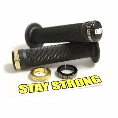 £40.89 • Buy Stay Strong BMX Lock On Grips 130mm - Black