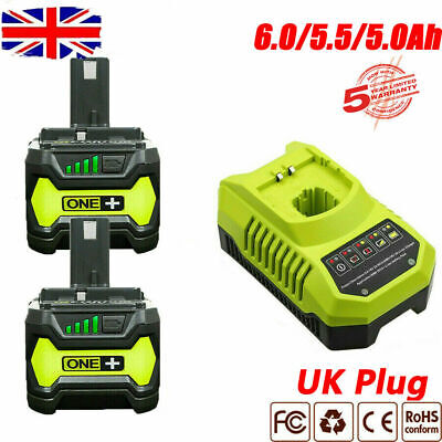 £26.99 • Buy 18VOLT FOR RYOBI P108 One+ PLUS HIGH CAPACITY LITHIUM-ION BATTERY OR CHARGER