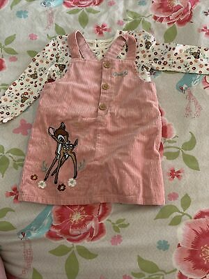£1.40 • Buy Girls 9-12months Bnwt Pink Bambi Dress And Top