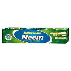 £7.48 • Buy Baidyanath Neem Toothpaste For  White And Strengthens,Protects Teeth  100 Gm+F.S