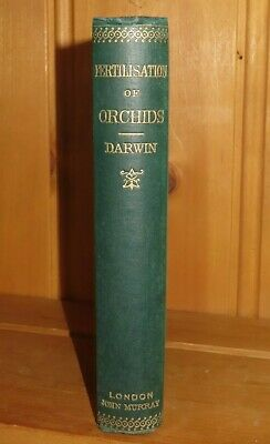 £249.99 • Buy 1890 FERTILISATION OF ORCHIDS BY INSECTS By CHARLES DARWIN 2nd ED Origin Species
