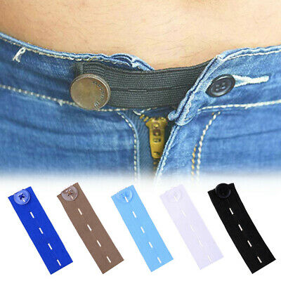 £2.69 • Buy Waist Band Extender Button Trouser Maternity Expander Jeans Elastic Collar Cuff