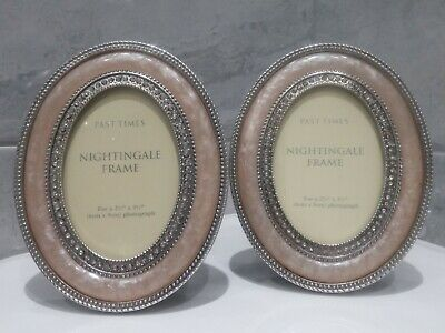 £10 • Buy Past Time Nightingale Set Of Two, Freestanding Photo Frames