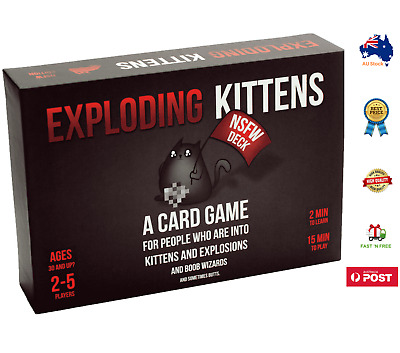 AU30 • Buy 🔥BRAND NEW-Exploding Kittens - NSFW Card Game - AUS STOCK,FREE SHIPPING🔥