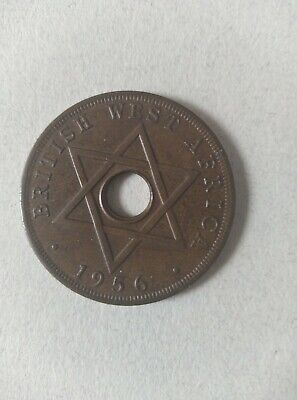 £4.95 • Buy British West Africa One Penny Coin 1956