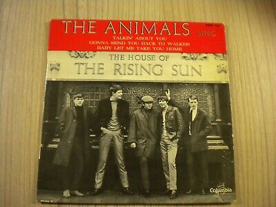 £12.88 • Buy The Animals -- House Of The Rising Sun-  Cover - ( Nur Cover) - 1964 --