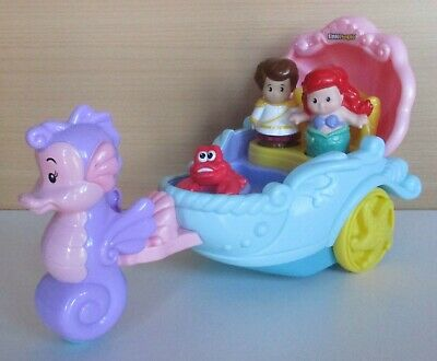 £14.99 • Buy Fisher Price Little People Ariel Carriage Musical Toy