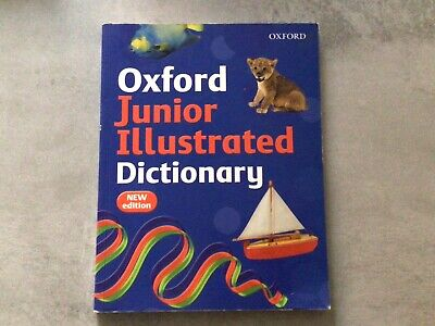 £2.50 • Buy OXFORD JUNIOR ILLUSTRATED DICTIONARY-Sheila Dignen