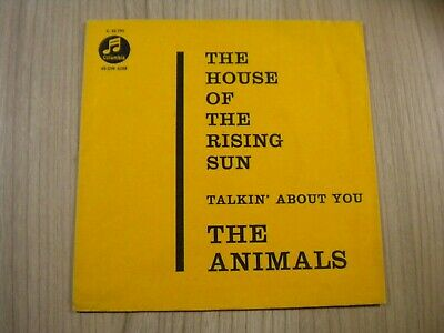 £10.31 • Buy The Animals -- House Of The Rising Sun-  Cover - ( Nur Cover) - 1964 --