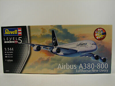 £24.99 • Buy Revell 03872 - Airbus A380-800 Lufthansa-Bundle (1:144) New