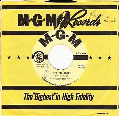 £4.96 • Buy Clyde McPhatter Bless You / Let's Try Again MGM 12843