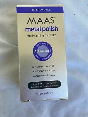 $20.89 • Buy MAAS Metal Polish All Metals French Lavender, 2 Oz New In Box