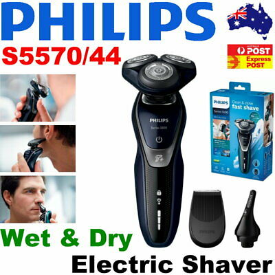 AU179.95 • Buy Philips Shaver Series 5000 Wet And Dry Electric Shaver S5570/44 -Ear Hair & Nose