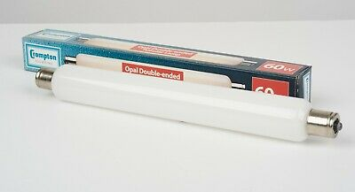 £6.99 • Buy Crompton Double Ended 60W 240V Strip Lamp - 221mm- Pack Of 10