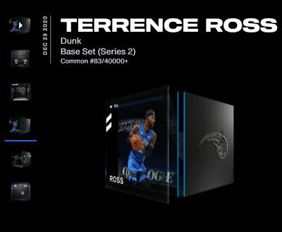 $99 • Buy NBA TOP SHOT Terrence Ross DUNK #83/40k+ NFT 🔥 VERY LOW SERIAL No 🎁 Gift Ready