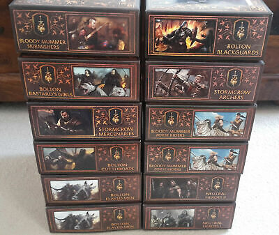 £249.99 • Buy A Song Of Ice And Fire Miniatures Game - ASOIAF Neutrals Faction Bundle