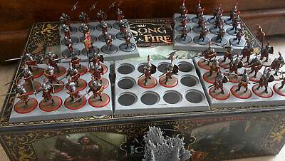 £499.99 • Buy A Song Of Ice And Fire Miniatures Game - Stark & Lannister ASOIAF Faction Bundle