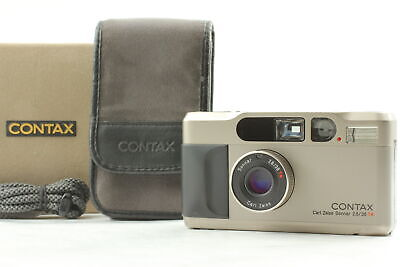 $ CDN1214.54 • Buy [N.Mint In Case] Contax T2 35mm Point & Shoot Film Camera From Japan