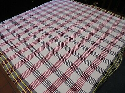 £3 • Buy Lovely Vintage/Retro Checked Tablecloth