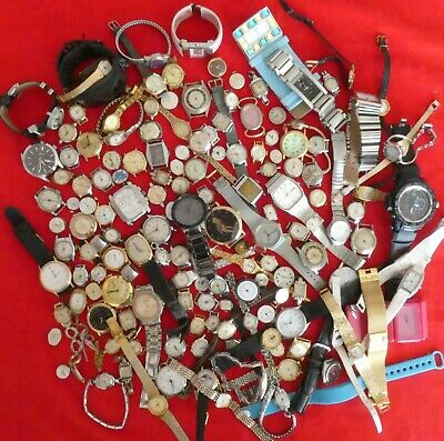 $ CDN36.10 • Buy Job Lot 150+ Watches Spares Repairs Runners And Non Runners Vintage Non Vintage