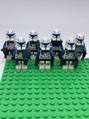 £1073.81 • Buy LEGO Star Wars Captain Rex Phase 2 Minifigure Lot!! Lot Of 7. Rare!