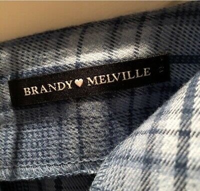 £4 • Buy Brandy Melville Checkered Skirt. Sold Out Online X In Perfect Condition Size 4-8