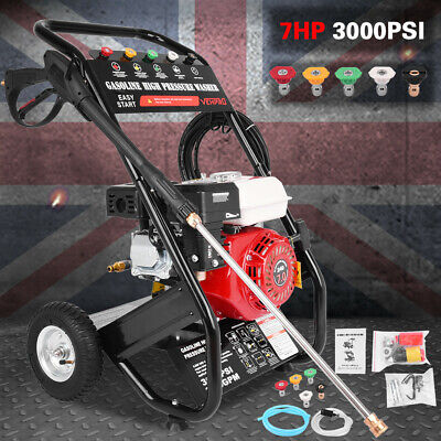 £192.91 • Buy VEHPRO Petrol Pressure Washer - 3000PSI / 240BAR - POWER JET CLEANER With HOSE