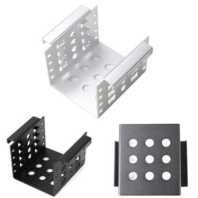 AU16.25 • Buy 1pc Aluminum 4 Bay 2.5 In SATA HDD SSD To 3.5 In Bracket Adapter Durable AU