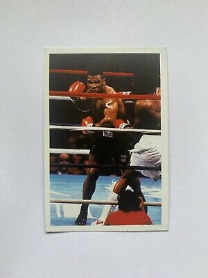 £50 • Buy Mike Tyson Rookie Card A Question Of Sport Vintage 1980s UK VG EX Ungraded