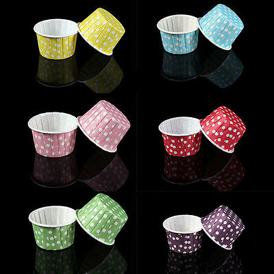 £4.27 • Buy 20pcs Colorful Paper Cake Cupcake Liner Case Wrapper Muffin Baking Cup Party D/