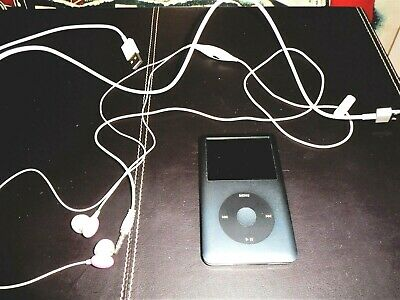 £38 • Buy APPLE IPOD CLASSIC 7TH GENERATION 160 GB MODEL NUMBER A1238 GREY/BLACK/SILVER