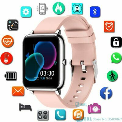 AU43.76 • Buy Waterproof Smart Watch Heart Rate Monitor Fitness Tracker For Android IPhone AU*