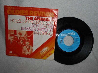 £2.57 • Buy 7  The Animals -- The House Of The Rising Sun / Don´t Let Me Be Misunderstood