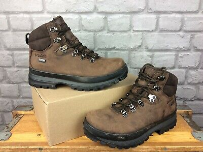 £21 • Buy Brasher Mens Uk 7 Eu 41 Country Master Brown Leather Walking Boots Rrp £170 Ep