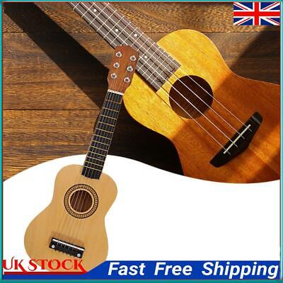 £14.65 • Buy Wood Acoustic Guitar Pick Strings For Children Beginners Practice Gifts  ①a