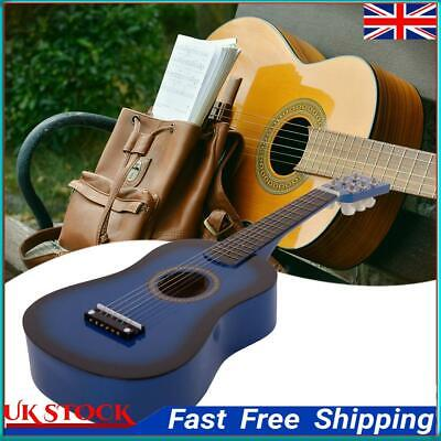 £13.17 • Buy Wood Acoustic Guitar Pick Strings For Children Beginner Practice Gifts  ①a
