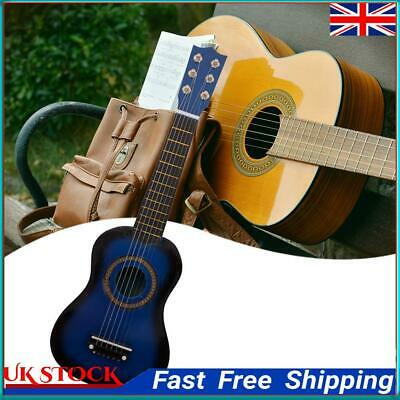 £11.71 • Buy Wooden Acoustic Guitar Pick Strings For Children Beginners Training Gift ①a