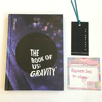 AU36.59 • Buy Day6 The Book Of Us Gravity Soul Version Mwave Signed