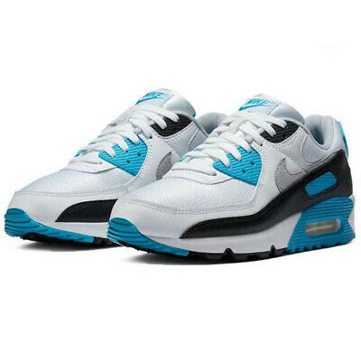 £48.98 • Buy Air Max 90 Running Shoes Blue White Sport Running Trainers Sneakers Shoe