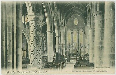 £0.99 • Buy Kirkby Lonsdale Parish Church, Cumbria; Early 1900's; Unused